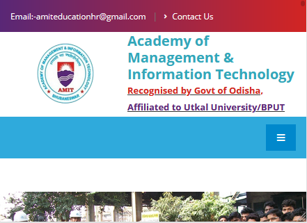 Amit College Website